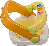 Bieco Badewannensitz mit aufklappbarem Ring ab 6 monaten   Badesitz Baby   Badewannensitz Baby Wanne   Kindersitz Drehbar   Anti Rutsch Badewanne   Baby Badewanne   Badewanne für Dusche   Bath Kinder