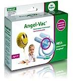 Angel-Vac Nasensauger Staubsauger, Geschwister-Paket NEU: mit extra weichem Saugkopf Baby Nasensauger, Das Original seit 30 Jahren