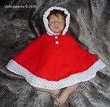 Knitting Pattern - KP159 - baby poncho 4 sizes (English Edition)