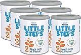 Nestlé LITTLE STEPS 2 Folgemilch im Anschluss an das Stillen, nach dem 6. Monat, 6er Pack (6 x 800g)