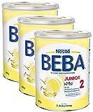 Nestlé BEBA JUNIOR 2, Milchgetränk ab dem 2. Geburtstag, 3er Pack (3 x 800g)
