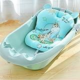 DSPKOhG Faltbare Bath Cushion Benutzt für 50 Litern Volumen von Babywanne | inkl. Badewanneneinsatz Baby | ergonomisch & kompakt | stabiles Spandex | platzsparend | Zufriedenheitsgarantie (GN)