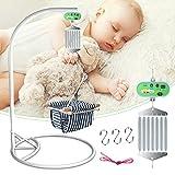 ETE ETMATE Babyschaukel Babywippe Controller mit Einstellbar Timer Schwingfeder für die Baby Federwiege und Baby Hängematte,stabil/KeinGeräusch/,Bis 21kg