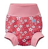 Splash About Unisex-Baby Neue Und Verbesserte Happy Nappy Windel Schwimmen, Pink Blossom, 3-6 Monate