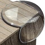 maliveo Premium Eckenschutz und Kantenschutz transparent aus Kunststoff - Geprüft - Rückstandslose Entfernung - Inklusive Ersatz - Stoßschutz für Baby und Kinder (12 Stück)