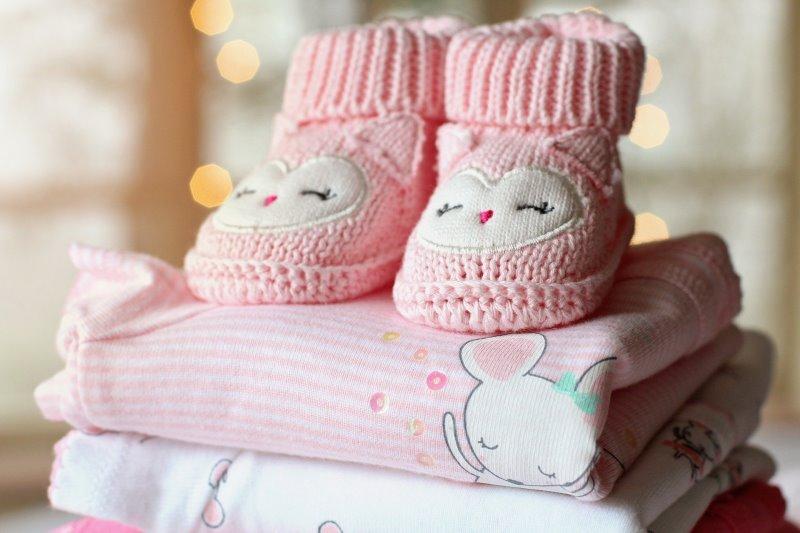 pinke Babysachen